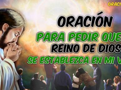 ORACIÓN POR EL REINO DE DIOS